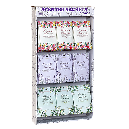 Power Wing Panel of Scented Sachets