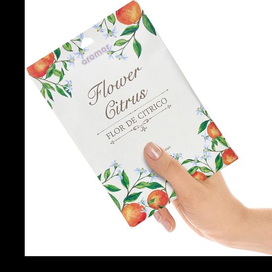 Wholesale Flower Citrus Scented Sachet in Hand