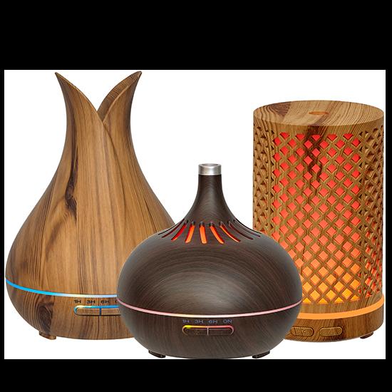 Wholesale 3 Wood Ultrasonic Diffusers
