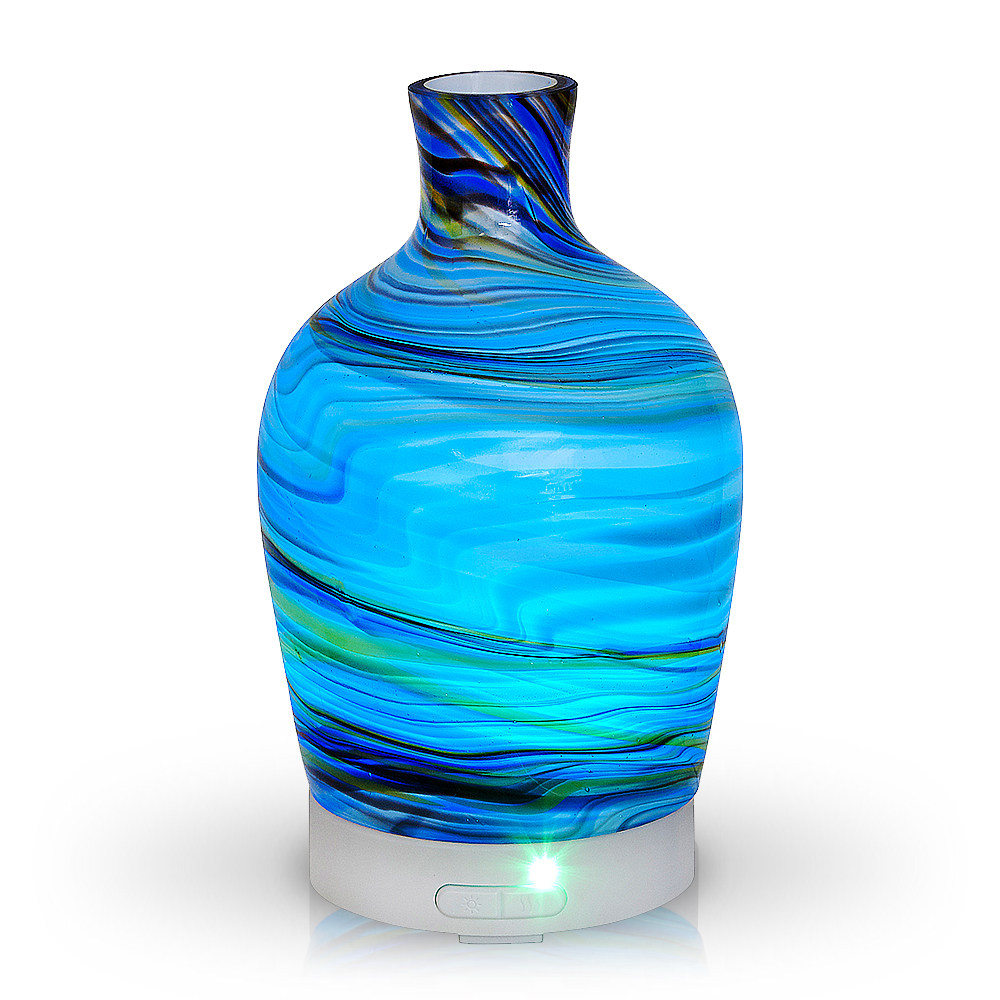 Decanter Abstract Glass Multi