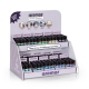 Half ounce fragrance oil collection inside countertop display