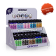 90 count countertop display of fragrance oils